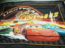 A DISNEY PIXAR MATER AND LIGHTNING MCQUEEN CARS COTTON QUILTING FABRIC PANEL