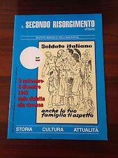 R30> Il secondo Risorgimento d'Italia n.10/11 2000- 8/9-8/12 1943