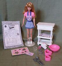 Barbie 1998 *Sweet Treats Barbie Doll w/Baker Accessories #20780 MINT CONDITION