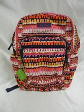 Vera Bradley - Lighten Up Medium Backpack - Rio Squiggle - 14309-269 - NWT