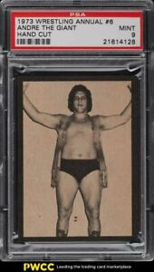 1973 Wrestling Annual #6 Andre The Giant ROOKIE RC  PSA 9 MINT