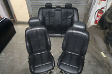 BMW F30 BLACK LEATHER INTERIOR SEATS WITH DOOR CARDS 2012