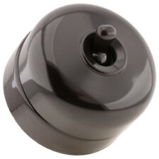 Tucker Industrial Domed Bakelite Toggle Light Switch 1Way **FULLY COMPLIANT**