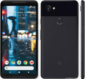Google Pixel 2 XL - 64GB - Black & White - Factory Unlocked Smartphone New Other