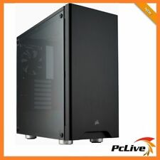 Corsair Carbide 275R Mid Tower Gaming Case Tempered Glass Window Quiet ATX Black