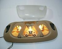 2000 95-04 98 Ford F150 250 Mustang Bronco Dome Interior Map Light Lamp Tan OEM
