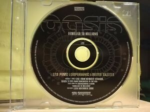 OASIS - GAS PANIC - SUPERSONIC - HELER SKELTER - cd singolo PROMO - 2000