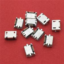10pcs G25 Micro USB 5pin Female Socket  Connector Plain Mouth Type