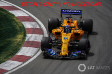 DECAL mclaren mcl33 2018 300th GP Alonso Canada alcohol 1/43 F1 minichamps