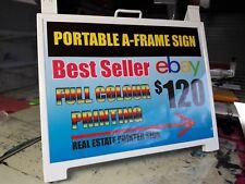 Plastic A-Frame Sign Endurosign Portable Aframe 600x450mm Pointer Real Estate