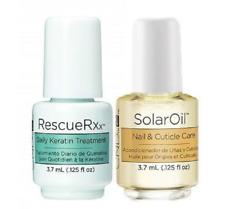 CND Mini rescate RXX & CND Solar Oil Duo tratamiento 3.7ml Botella * El Regalo Perfecto