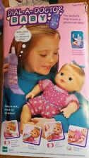 RARE HASBRO 1997 Choosy Baby All Gone Dial a Doctor Baby DOLL HTF set COMPLETE+