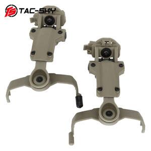 Compatible with COMTACII III headset, ARC OPS-CORE helmet rail adapter bracket