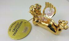 Decus Nobilis 24K Gold Plated Crystal Temptations Angel, Swarovski Elements