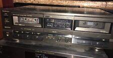 Technics Stereo Double Cassette Deck RS-TR155 PLS READ