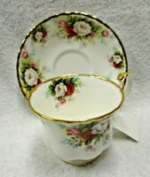Royal Albert Celebration  Cup and Saucer