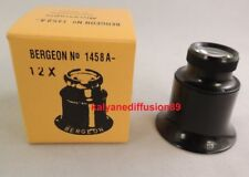 Authentic Loupe Eyeglass Lenses removable Bergeon 1458 X12
