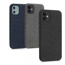 Soft Case Stoff Schutzhülle für Apple iPhone 11 Hülle Tasche weich soft Fleece