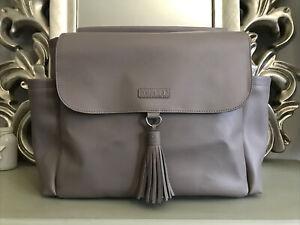 Skip Hop Greenwich Grey Convertible Backpack Stroller Shoulder Baby Changing Bag