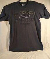 Vintage Pepsi Men's Graphic T Shirt size L/XL Blue 100% Cotton NWT