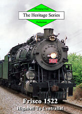 Train DVD: Frisco 1522 from St. Louis to Centralia and Sesser in 1993