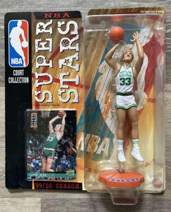Larry Bird Celtics NBA Court Collection Superstars Figurine Upper Deck Card 1999