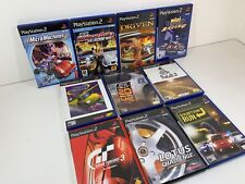 PS2 Playstation 2 Retro Bundle Racing Games x10 Dakar 2 Driven Gran Turismo