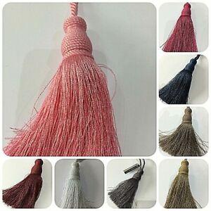 Designer Cushion & Curtains 12cm Key Tassels