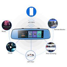 4G 8'' 1080P Car DVR camera GPS Android 5.1 Car RearView Mirror Camera Dash Cam