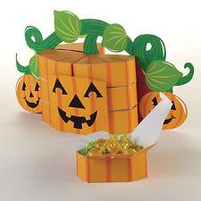 Halloween Favore Box caratteristica principale Zucca Festa Scheda decorazioni & scatole di favore