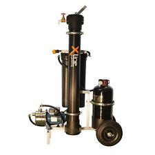 Portátil 2000GPD Ósmosis Inversa Filtro De Agua - 4-etapa R/O-D/I + bomba reforzadora