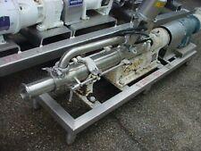 25 Inch Sanitary Stainless Steel Progressive Cavity Pump Moyno