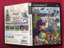 PS2 DRAGON QUEST V 天空の花嫁 JAPANESE 2004 SQUARE ENIX PlayStation 2 FREE POSTAGE