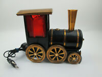 Vintage Russian Metal Train Lamp Red Electric Untested