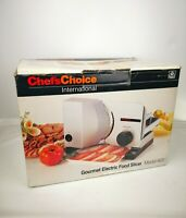 Chef's Choice Gourmet Electric Food Slicer Model 600 Great Condition