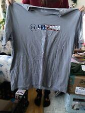 Under Armour Mens Gray Short Sleeve Freedom Shirt Size 3Xl