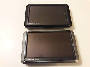 2 Garmin Nuvi 200W and 255W Portable GPS Navigation Systems