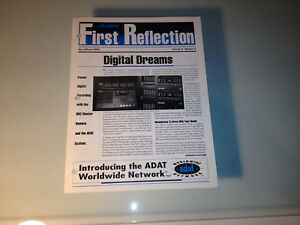 "Alesis ""First Reflection"" Fall/Winter 1992 (Volume 5 Number 2) Product Brochure"