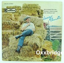 WILF CARTER If It Wasn't For The Farmer What Would City Slickers Do? RARE Vinyl