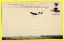 cpa AVIATION MILITAIRE MONOPLAN BLERIOT Piloté par Le Lieutenant ACQUAVIVA