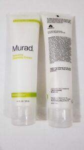 2X Murad Renewing Cleansing Cream, Improves Skin Appearance 4 fl oz Each -No box