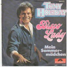 "<1947> 7"" Single: Tony Holiday - Disco Lady / Mein Sommermädchen"