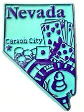 Nevada Carson City Fridge Magnet