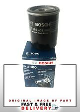 BOSCH OE QUALITY OIL FILTER P2060 FOR NISSAN MICRA K11 1.0 1.3 93-02