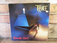 TRANCE Break Out LP Record Album Vinyl