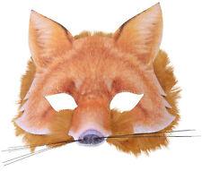 Authentische Fuchs Maske NEU - Karneval Fasching Maske Gesicht