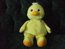 "15"" Kellytoy yellow duck orange beak and bottom of feet"