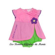 AGATHA RUIZ DE LA PRADA - PROMO -70% - Robe avec bloomer intégré rose et vert