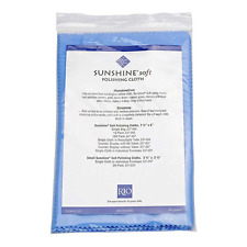 1 Individually Packaged Sunshine Soft Blue Polish Cloth Jewelry Cleaner NEW Gold