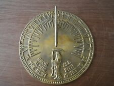 Rome Rm2345 Brass Father Time Sundial Polished Brass. New. No box.